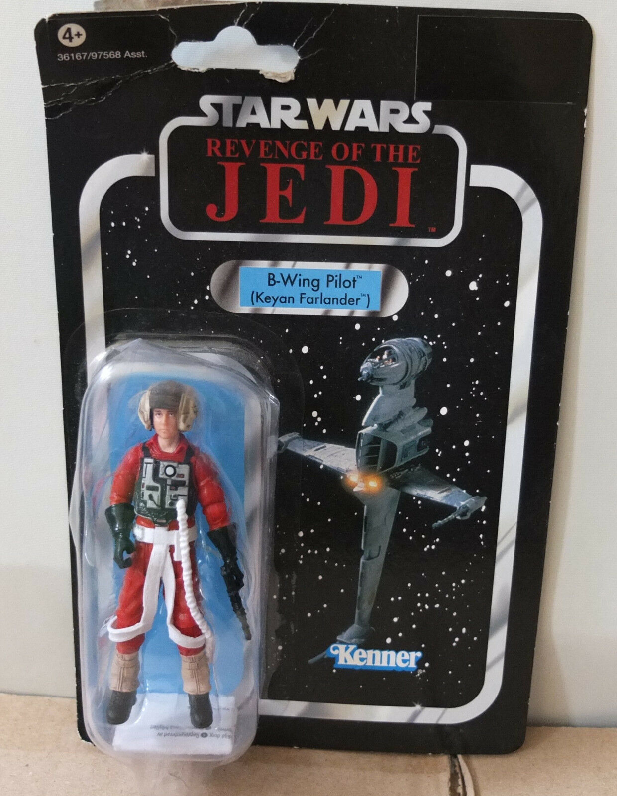 Star Wars Vintage Collection Vc63 B-Wing Pilot JEDI Revenge Rasche OVP & NEU