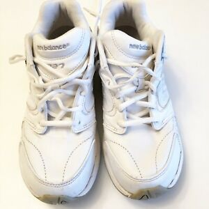 New-Balance-927-White-Health-Leather-Walking-Shoes-Rollbar-Women-s-Size-9