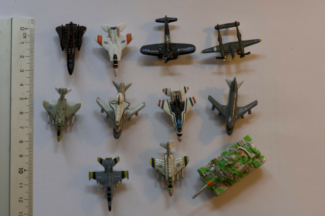 Micro Machine, Diverse Micro Machines, De mest ikoniske fly…