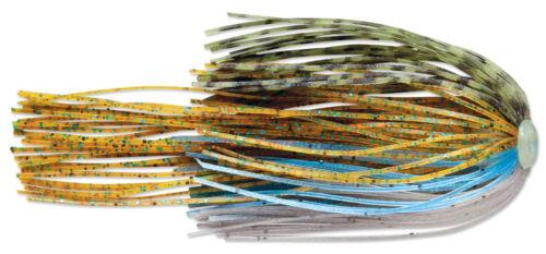 Walleye Trout Fishing Lure Terminator Power Pulse Quick Skirts 2pk Bass