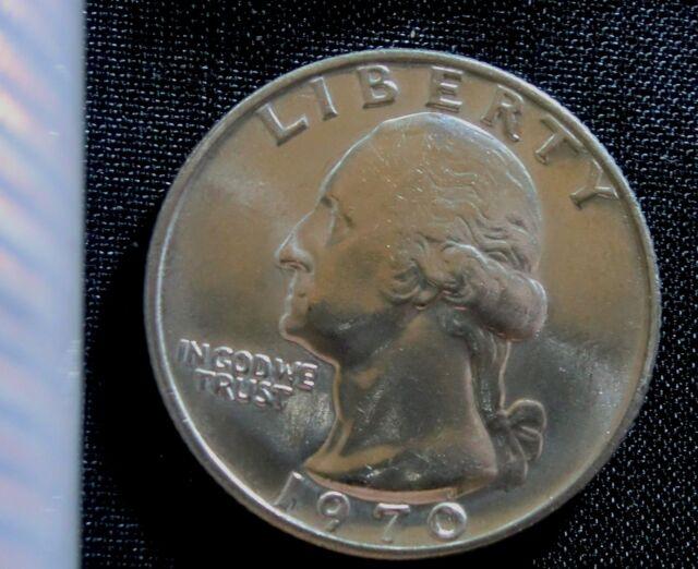 1970 Philadelphia Mint Washington Quarter BU