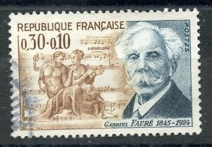 AgréAble Stamp / Timbre France Oblitere N° 1473 Celebrite Gabrielo Faure