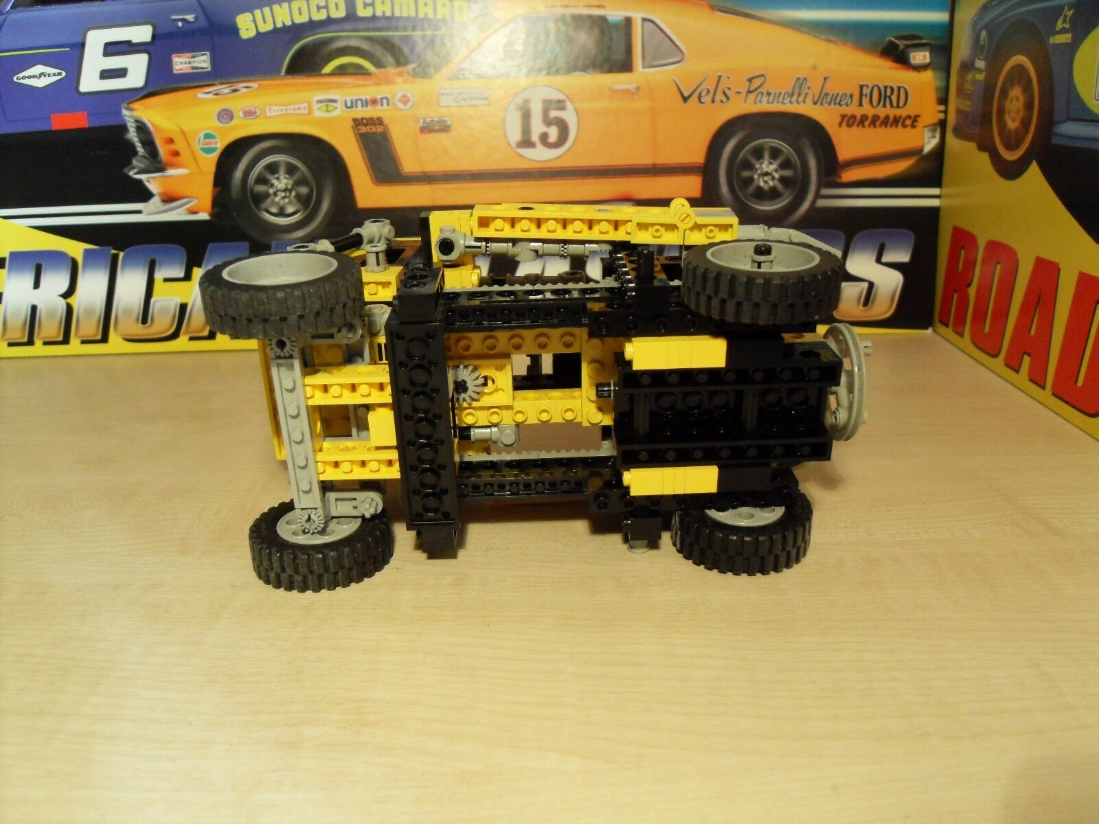 Lego Technic 8852 - Transformer Transformer Transformer Robot - Has been on display. 75d84a