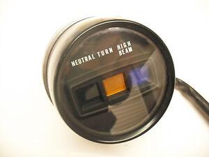 genuine honda warning lights clock cm  custom cmc idiot lamps light ebay
