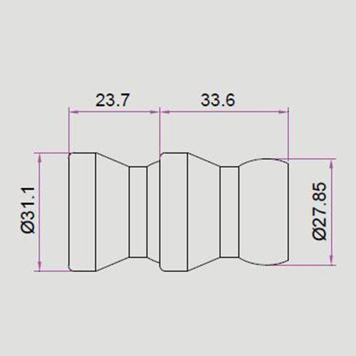"294mm Schlauch Kühlmittelschlauch Kühlmittelgelenkschlauch 3//4/"" Schlauch"
