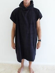 HOODED-poncho-BEACH-TOWEL-adult-youth-SURFING-surfers-TERRY-TOWELLING-nipper