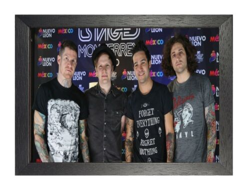 Fall Out Boy 12 Photo American Rock Band Print Heavy Metal Picture Music Poster
