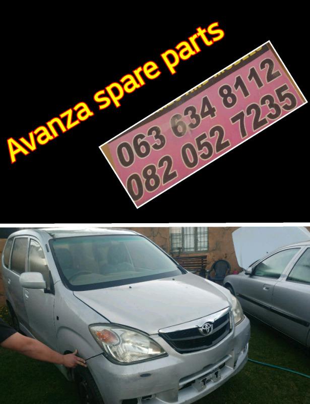Avanza spare parts call now