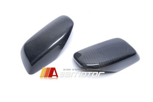 Replacement Carbon Fiber Side Mirror Cover for 04-07 BMW E60 E61 E63 E64 Pre-LCI