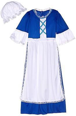 Child/'s Large Forum Novelties Colonial Girl Pilgrim Costume