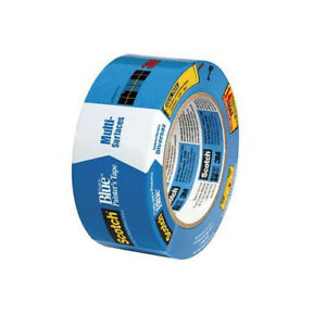 Details About 3m 06820 Scotch Blue Painter S Tape For Multi Surfaces 2090 1 88 X 60 Yd