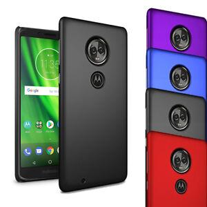 Pour-Motorola-Moto-G6-Play-5-7-034-Slim-Hard-Case-Mince-hybride-couverture-arriere-amp-Ecran
