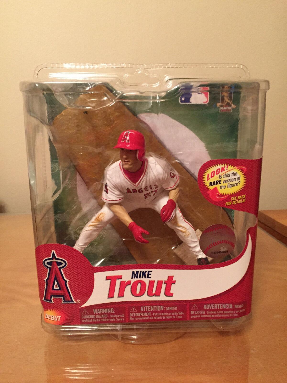 MCFARLANE Mike Trout Debut Debut Debut Anaheim Angels MLB Series 31 1fc00b