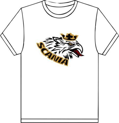SCANIA griffons HEAD design léger polyester Imprimé T Shirt