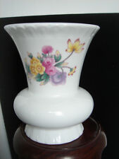 Marked Coalport Vase Bone China Made in England Spring Flowers