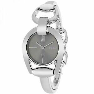 26e120dbefe Gucci 139 Horsebit Series Ladies Brown Dial Swiss Quartz Watch YA139501