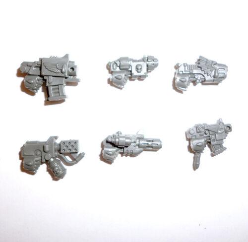 Blood Angels Tactical Squad Boulon pistolets X 6-G304
