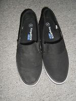 20 3/4 KANGAROOS Damen Schuhe Slipper Halbschuhe schwarz Gr. 37 flach Textil