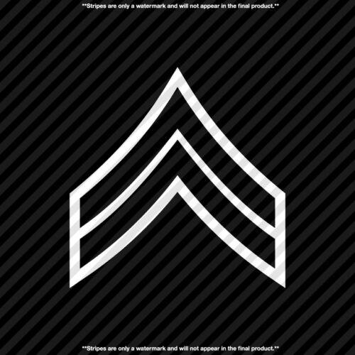 Corporal Stripe CPL Army Navy Marines Military