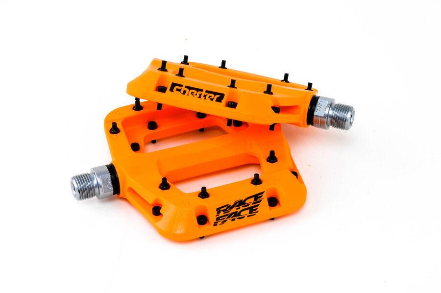 Nuevo 2016 Chester Pedal de naranja abajo Race Face Hill Bicicleta de montaña bici de montaña para declives