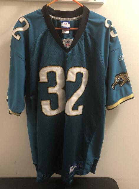 Maurice Jones Drew Jersey Jacksonville Jaguars Teal Size 52 Reebok Authentic