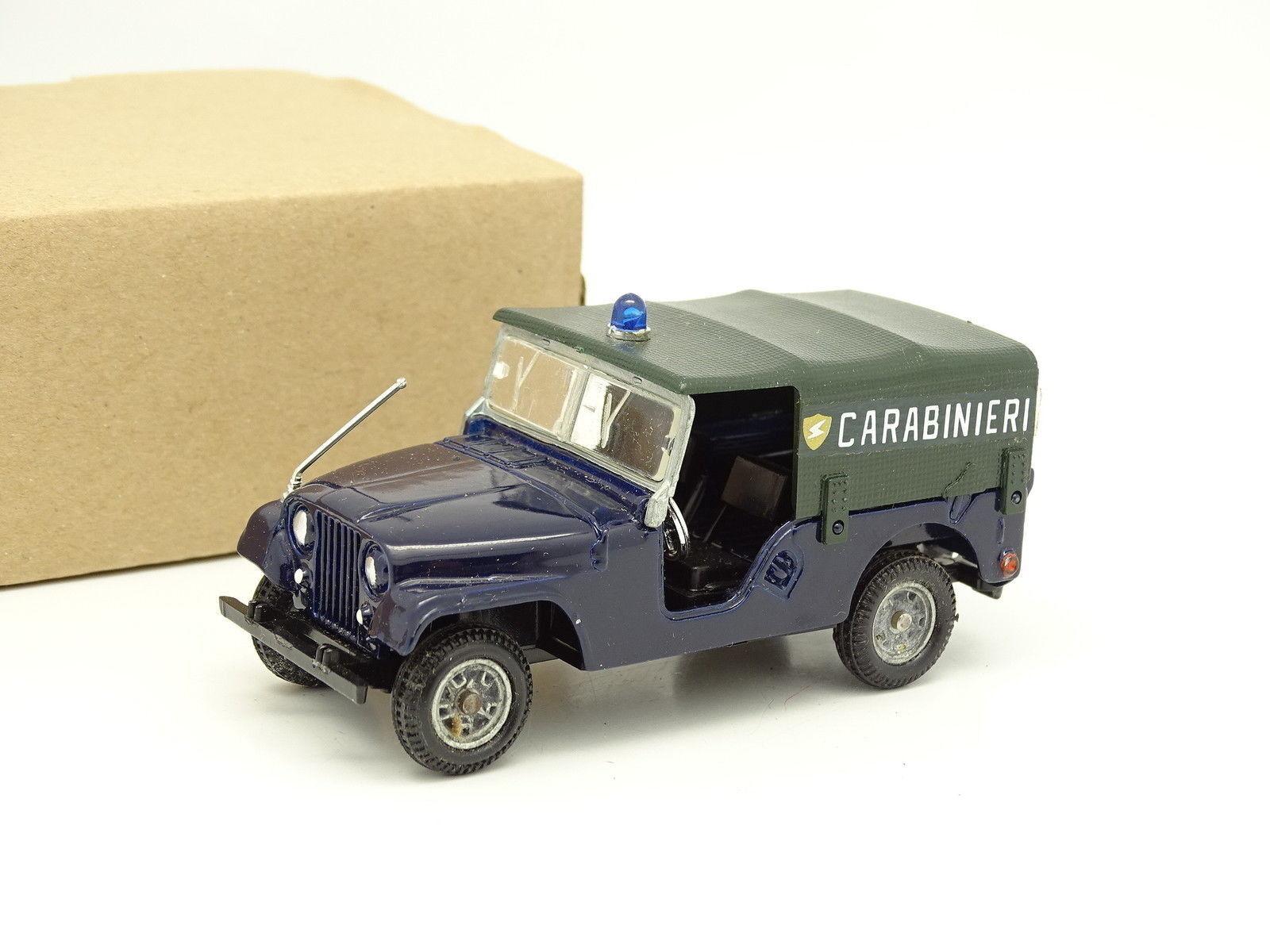 Mebetoys 1 43 - Jeep Willys Carabinieri