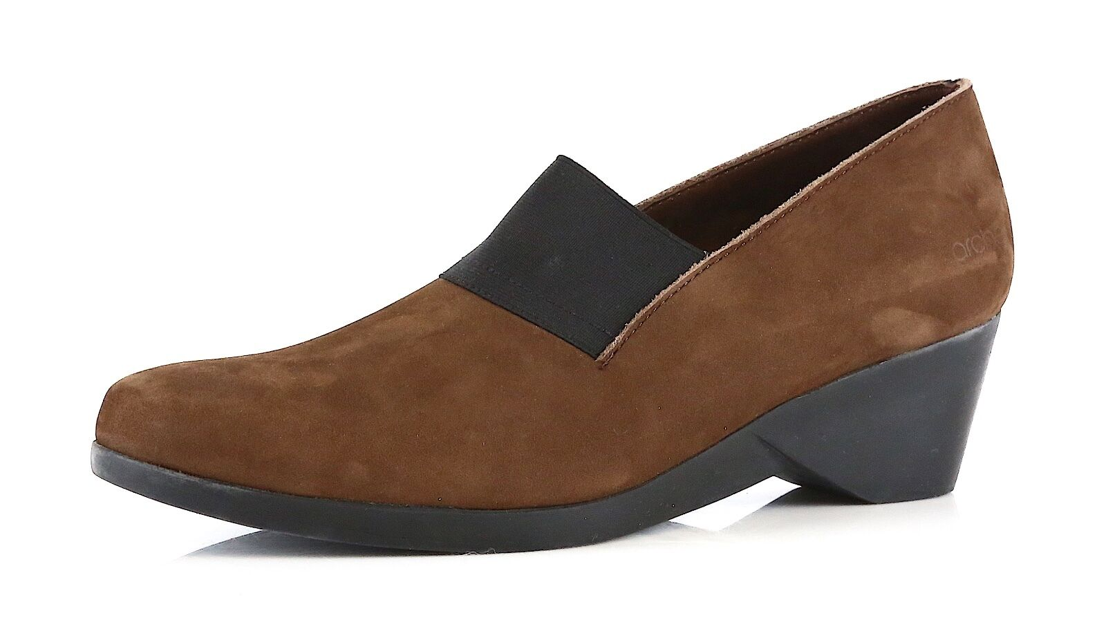 Arche Eonon Women's Slip-on Wedge Brown 1188 Sz US 5 EUR 36