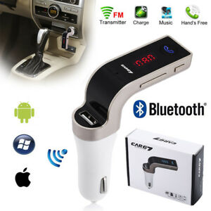 Bluetooth-Car-Kit-MP3-Player-FM-Transmitter-Wireless-Radio-Adapter-USB-Charger