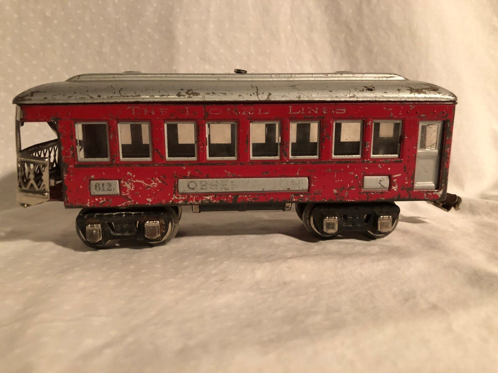 Lionel 612 Observation Car RARE color combo