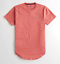 Hollister-homme-a-encolure-ras-du-cou-a-manches-courtes-Muscle-must-have-Courbe-Tee-Logo-T-Shirt miniature 35