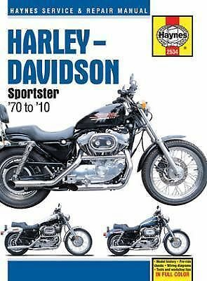 Haynes - 2534 - Sportster Repair Manual