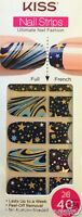 Kiss Nail Stick On Appliques French Or Full 40 Strips Dmt 603 Solar System