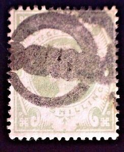 CatalinaStamps: Great Britain Stamp #122 Used, SCV=$72.50, #A-2