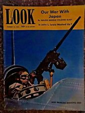 1942 January 13 Look Magazine Our War With Japan VINTAGE ADS WW II