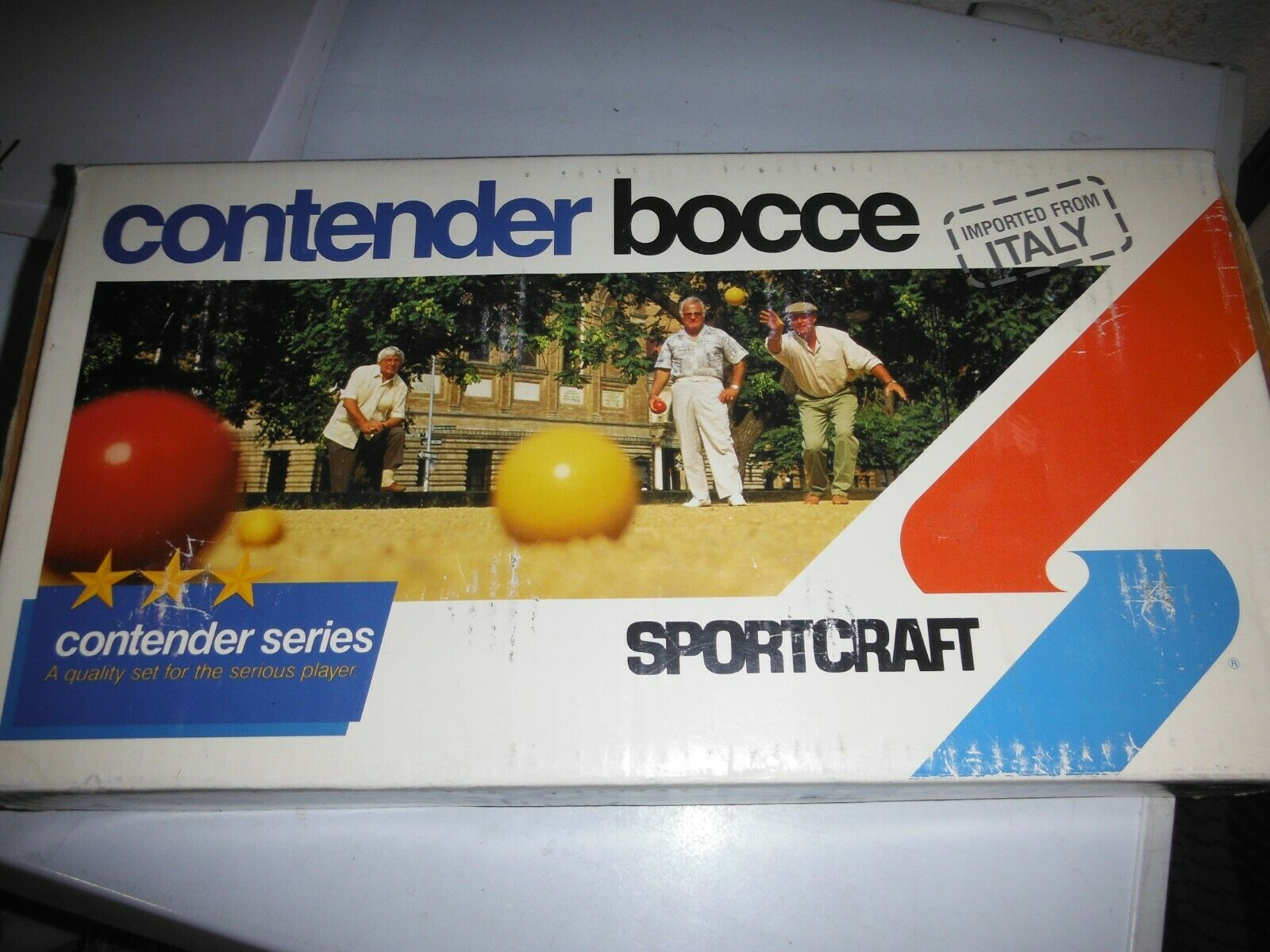 Sportcraft Contender Series Bocce Ball Set Made In  NEW vintage  complete