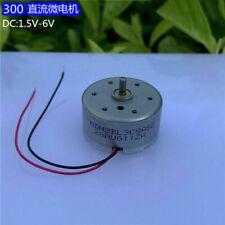 Minebea Rf 300ca Dc 15v 3v 5v 6v Micro 24mm Round Spindle Motor F Cd Dvd Player