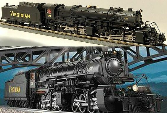 Lionel 38032 Virginian 2-8-8-2 E-Class USRA see BONUS/Write for 300 OGR Discount