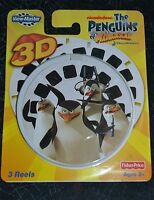 Nickelodeon The Penguins Of Madagascar 3d View-master Reels 3 Pack