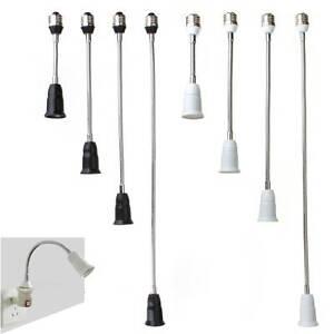 e27 zu e27 adapter sockel fassung flexible biegsame. Black Bedroom Furniture Sets. Home Design Ideas