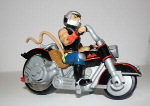 Biker-Mice-From-Mars-Throttle-039-s-Blazin-039-Cycle-Ripcord-Galoob-1993