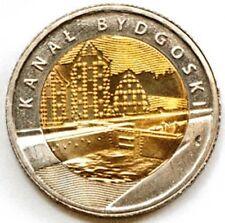 Poland 5 zloty 2015 Bydgoszcz Canal (Kanał Bydgoski) UNC (#1756)