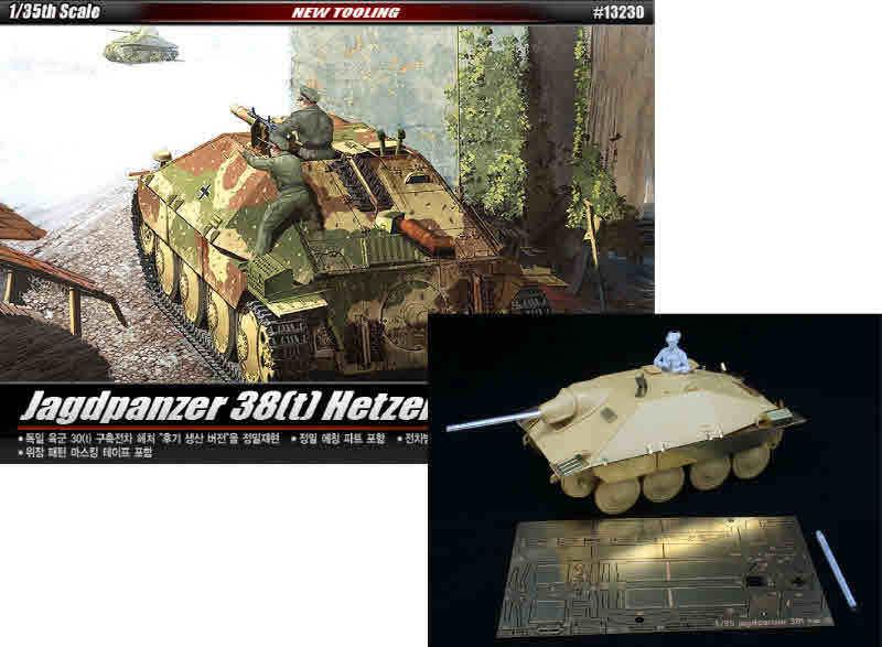 1 35 German Hetzer(Late type) + DiVision  Hetzer  Conversion full set