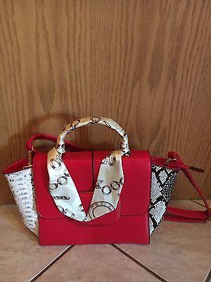 Damen Handtasche Damentasche Tasche, rot, unbenutzt