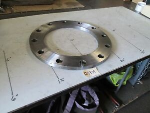 Plate-Flange-10-034-150-W-Searated-Sealing-Surface-Both-Sides-16-034-OD-3-4-034-Thk-NEW