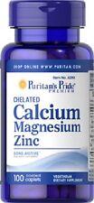 CALCIO, MAGNESIO E ZINCO 100 COMP.  calcium, magnesium and zinc
