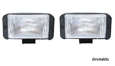 2X 12V 4X4 OFFROAD CAR  FOG SPOT LIGHT LIGHTS LAMP BULL BAR ROOF NEW