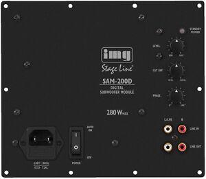 SAM-200D-Digital-Verstaerker-Modul-fuer-Subwoofer-Selbstbau-200-Watt-RMS