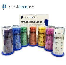 400 Micro Brushes Applicators Microbrush Dental Regular Fine Super Fine Eye
