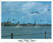 TORA! TORA! TORA! JAPANESE AIRPLANES ATTACK PEAR HARBOR LOBBY CARD ORIGINAL