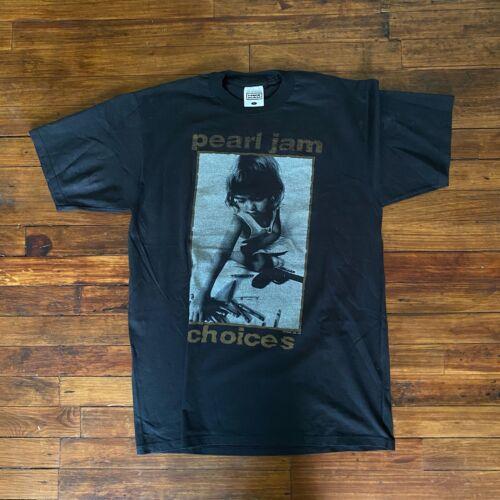 pearl jam choices 1992 vintage t shirt 90s